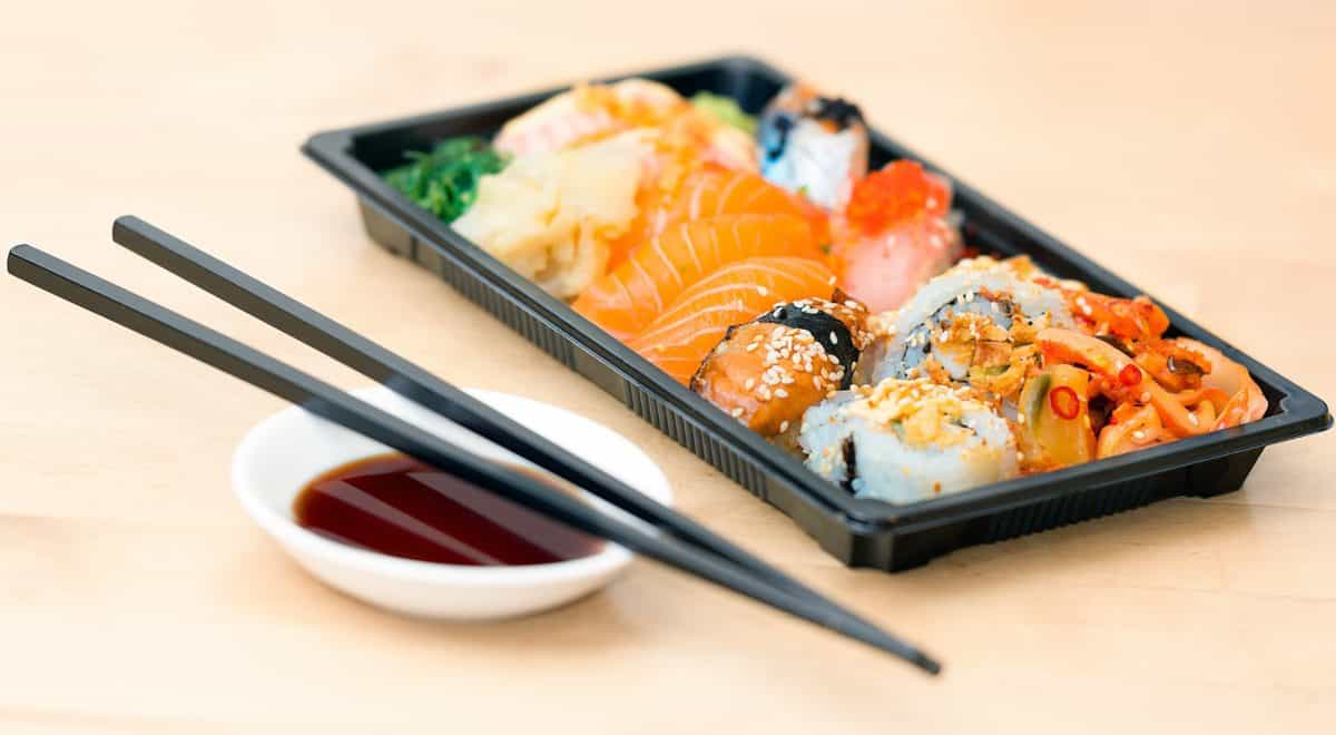 물고기, 점심, 저녁 식사, 맛 있는, 초밥, 해산물, 쌀, 음식