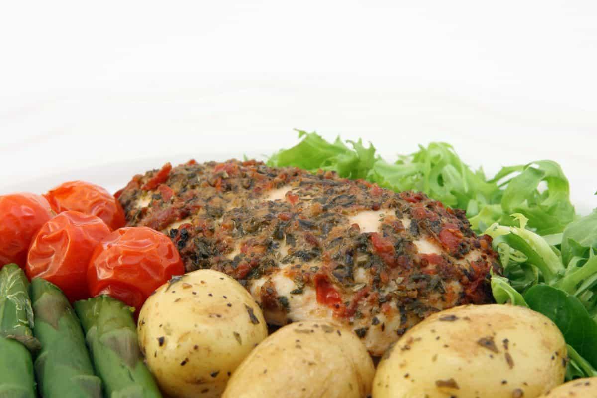 food, dinner, vegetable, meat, meal, lunch, beef, pepper