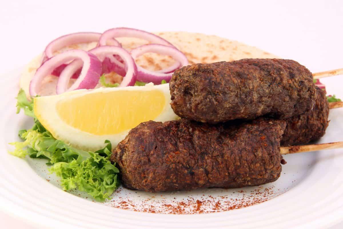 kød, frokost, mad, svinekød, middag, oksekød, måltid, lækre, vegetabilsk