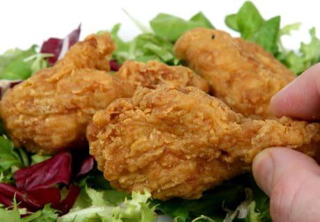 ужин, салат, еда, питание, курица, обед, мяса, салат