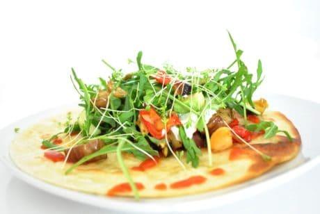 обяд, вечеря, предястие, ястие, растителни, салата, вечеря, храна