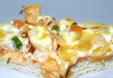 Pizza, comida, deliciosa, queso, comida, almuerzo, cena
