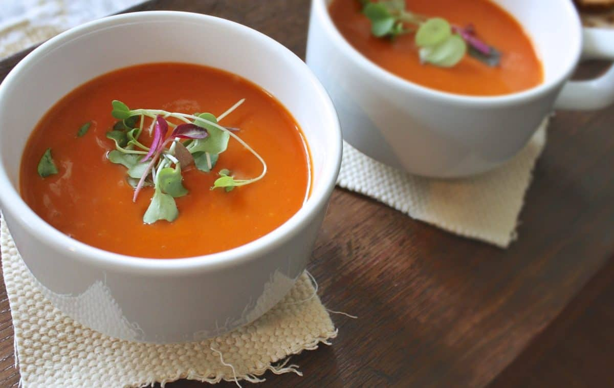 cream, bowl, carrot, dinner, lunch, food, soup, vegetable