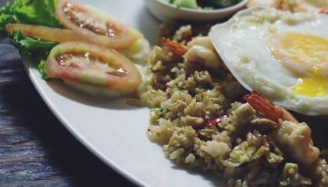 cibo, delizioso, uovo, pranzo, pasto, cena, piatto, verdura
