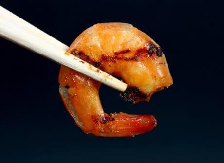 cibo, dieta, pesce, macro, gasteropode