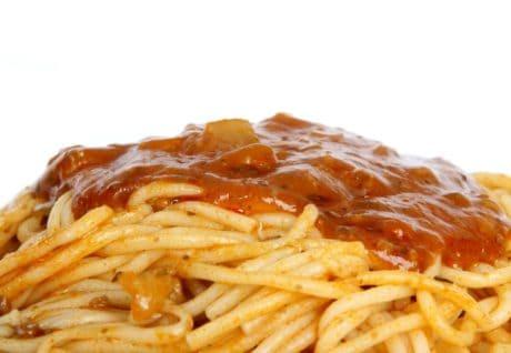 salsa, pasto, pranzo, cena, cibo, delizioso, piatto, carne, pomodoro
