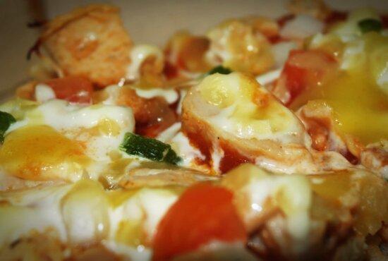 lunch, pizza, maaltijd, heerlijk, kaas, diner, voedsel, schotel