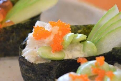 pranzo, cibo, cena, pesce, riso, sushi, piatto