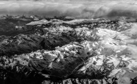 paisaje, naturaleza, montaña, glaciar, nieve, al aire libre