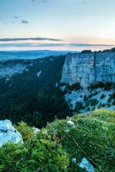 paesaggio, natura, acqua, montagne, canyon, crepuscolo