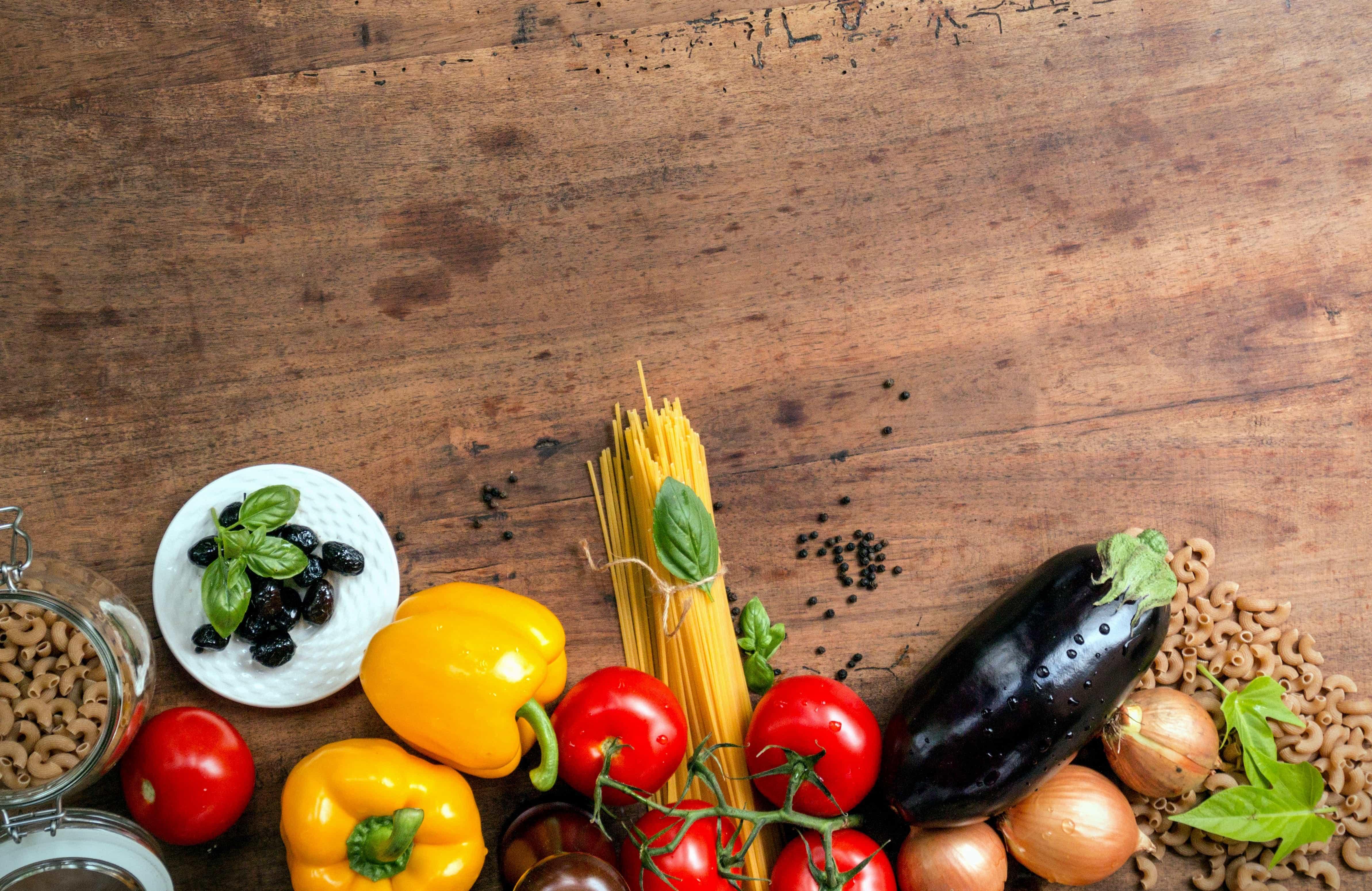 Kostenlose Bild: Gemüse, Paprika, aus Holz, Knoblauch