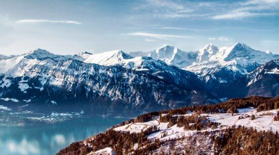 ice, glacier, landscape, mountain, snow, sky, winter, outdoor