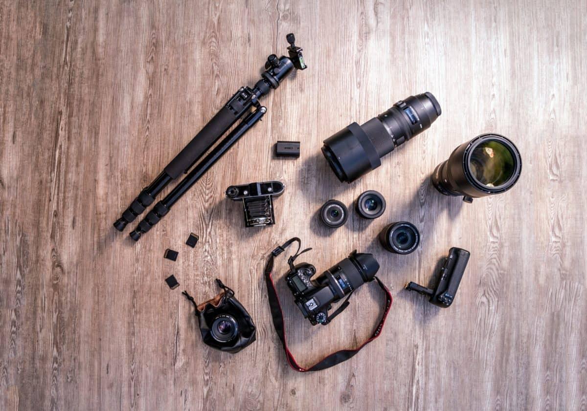 macchina fotografica, tecnologia, obiettivo, ottica, apparecchiature, treppiede, digitale