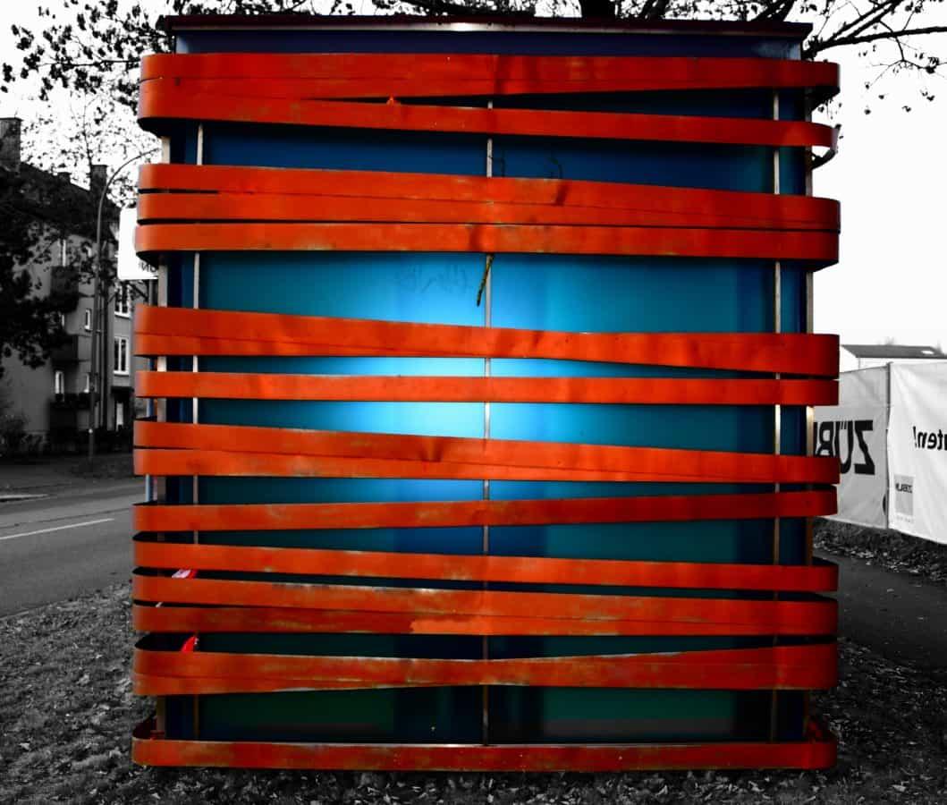art, architecture, glass, object, tree, street