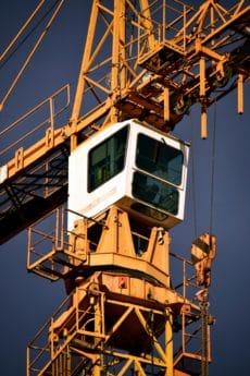 Industrie, Himmel, Stahl, Bau, hoch, Kran, Turm, im freien