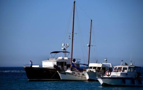 voilier, mer, eau, bateau, océan, motomarine, véhicule, bateau