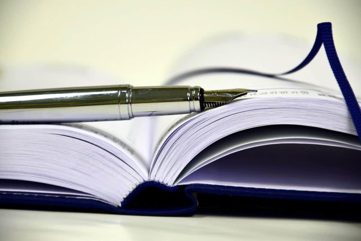 Библиотека, перо, образование, литература, исследование, знание, подробно