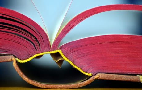 book, learning, red, paper, macro, object, detail