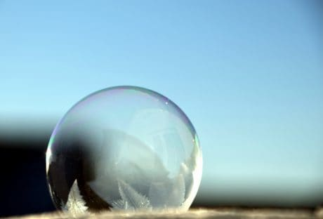 nieve, esfera, cielo, naturaleza, invierno, hielo, bola, reflexión