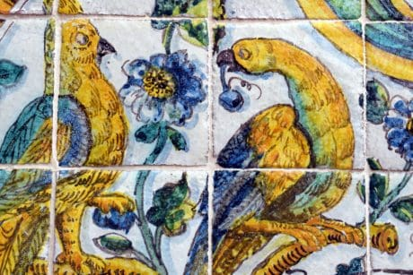 mosaic, colorful, art, wall, antique, pattern, old, ancient