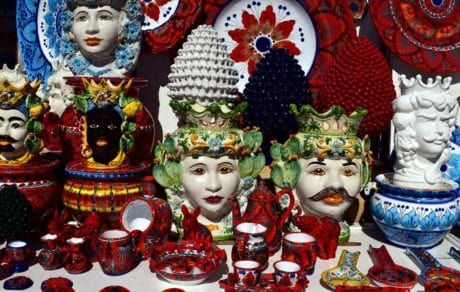 souvenir, art, mask, disguise, object, colorful