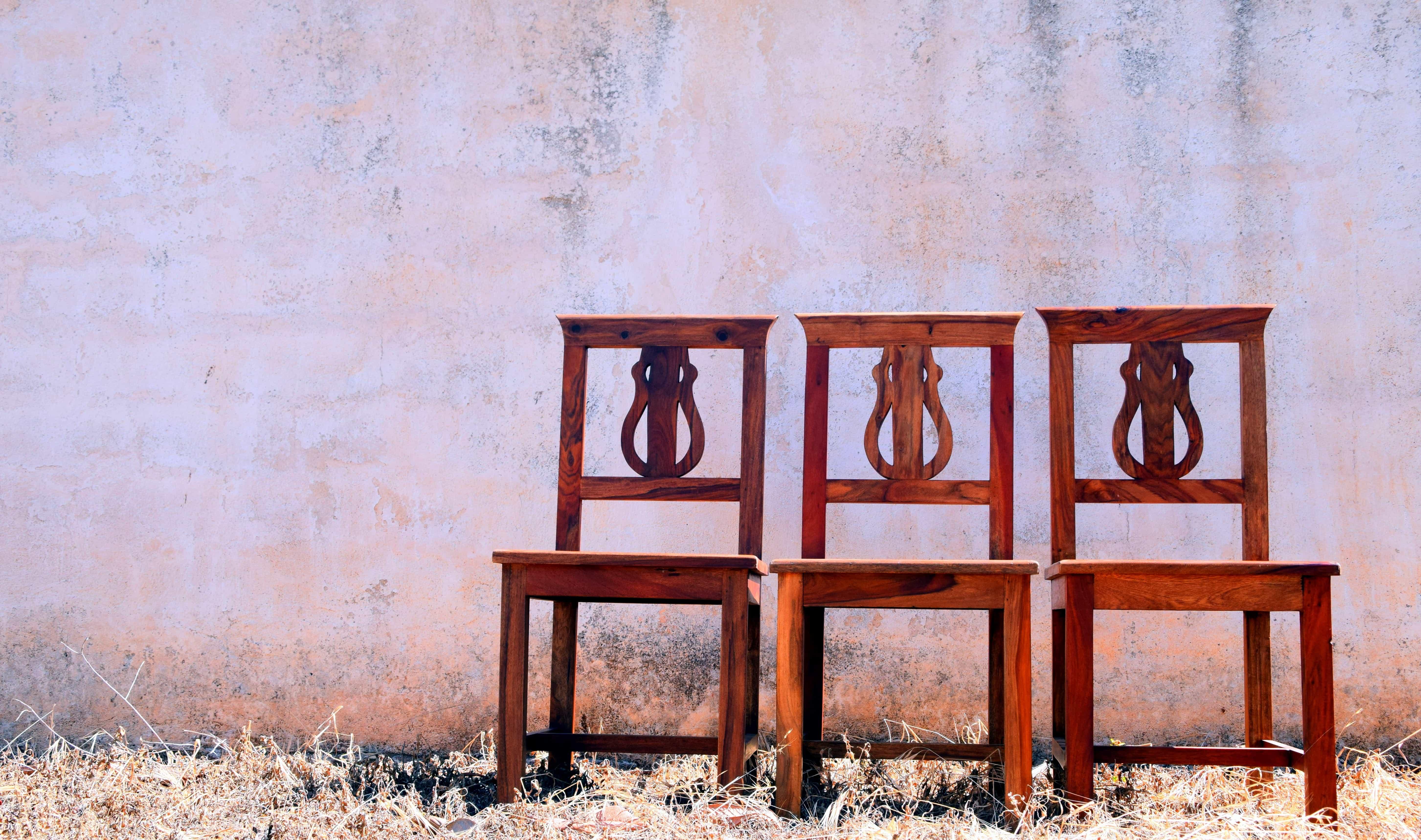 Imagen gratis: madera, madera, sillas, muebles, interior, al aire libre