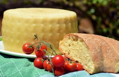 food, cheese, bread, tomato, organic, grain