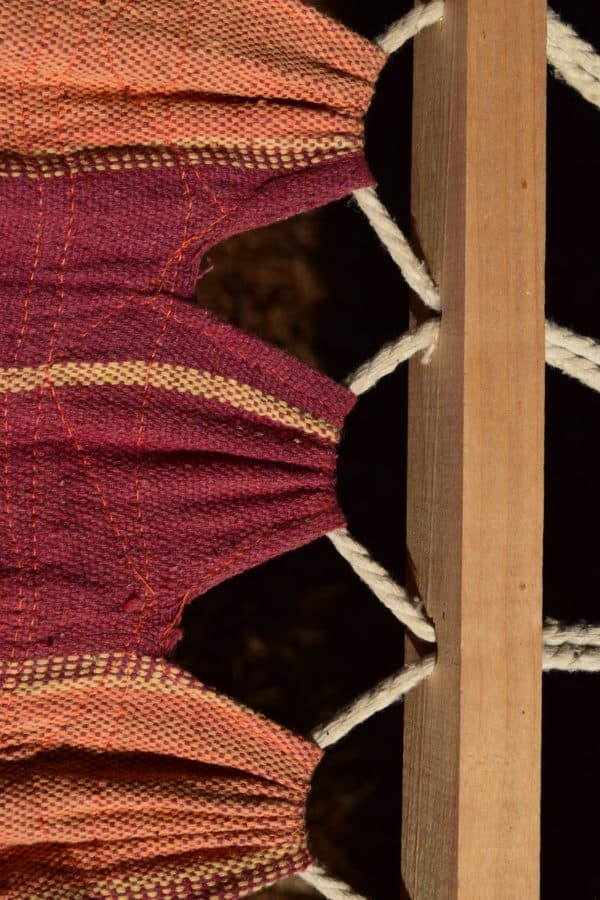 fabric, wood, rope, colors, furniture, detail, object