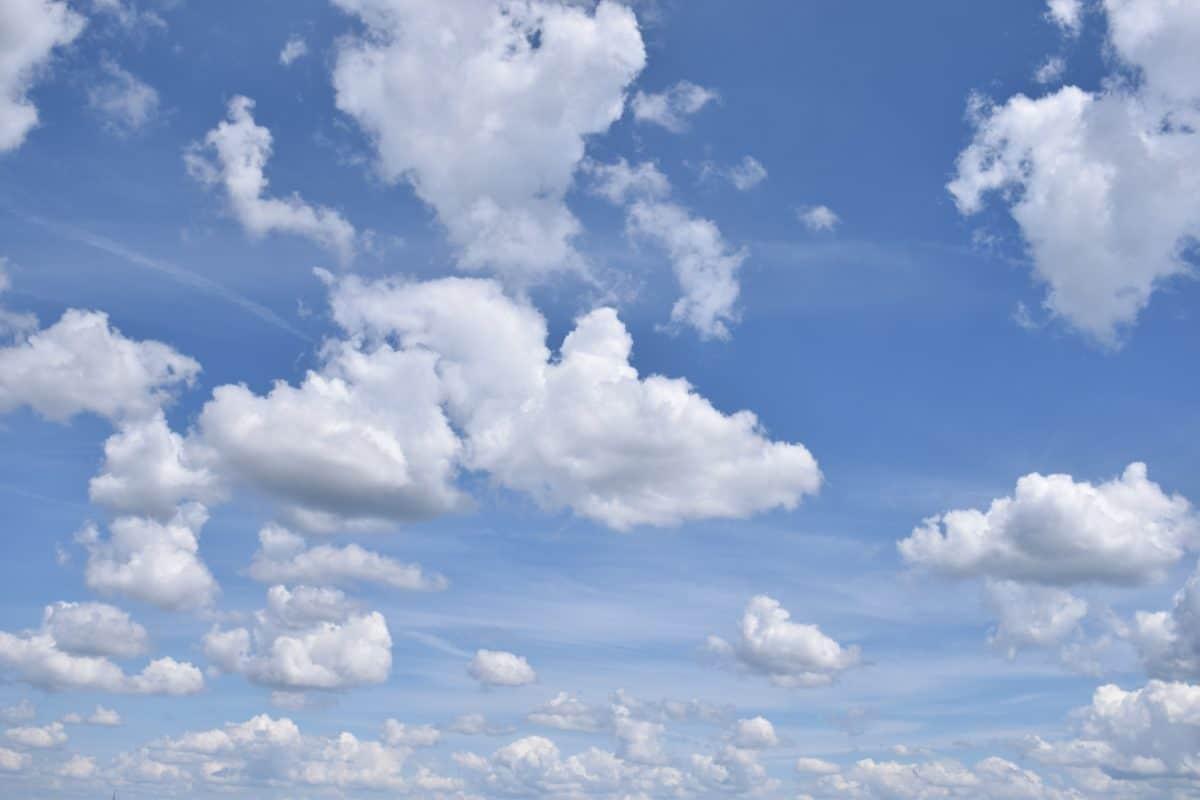 l'été, ciel, soleil, ciel, météorologie, nature, atmosphère, nuageux, nuages