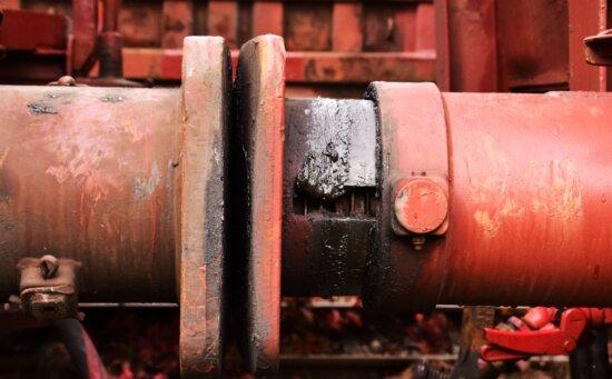 wagon, railway, red, objecty, steel, metal, transport