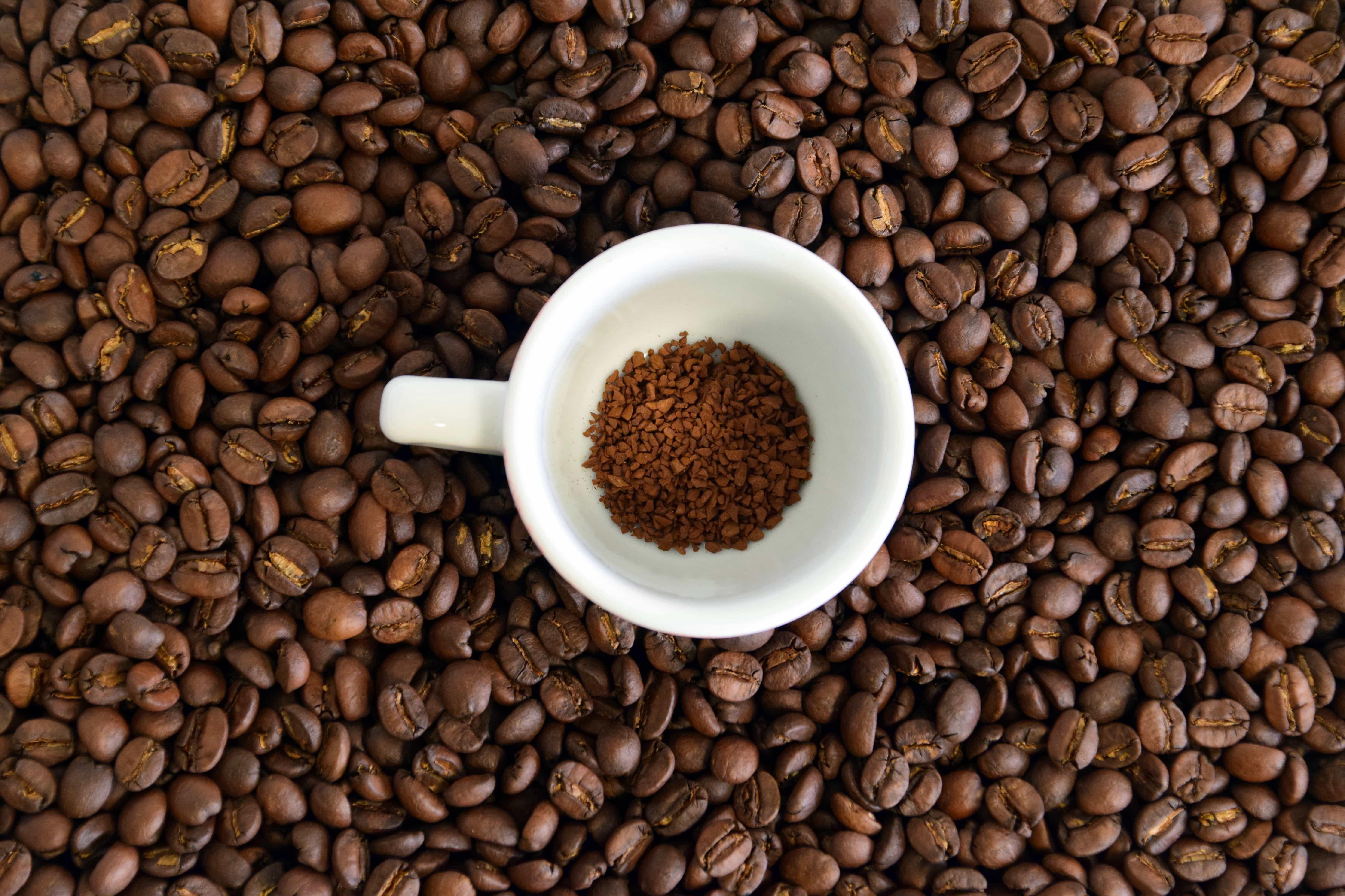 Kostenlose Bild: Koffein, Bohnen, Kaffee, Tasse, trinken, Cappuccino ...