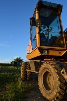 veicolo, macchina, macchinari, industria, trattore, bulldozer