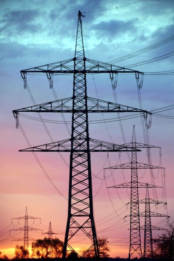 tensión, acero, electricidad, distribución, alambre, industria