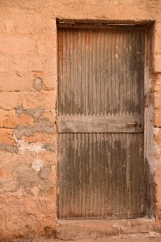 old, wall, architecture, door, texture, brick, wood, surface