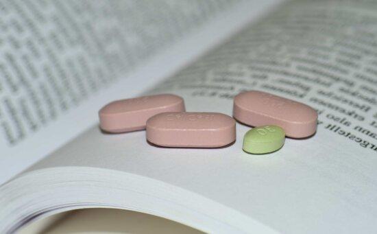 medicine, pill, healthcare, capsule, text, book, science