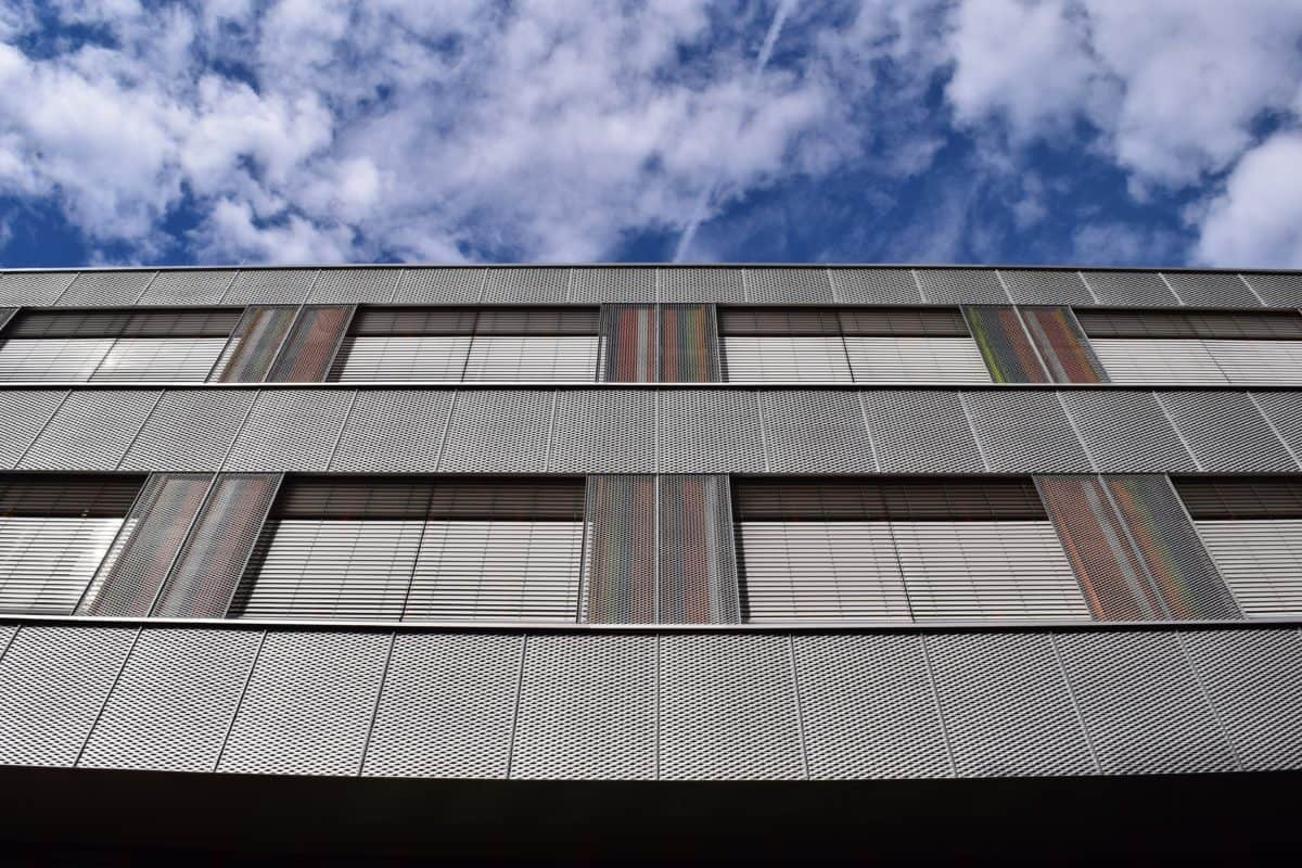 sky, architecture, window, facade, urban, city, modern, structure