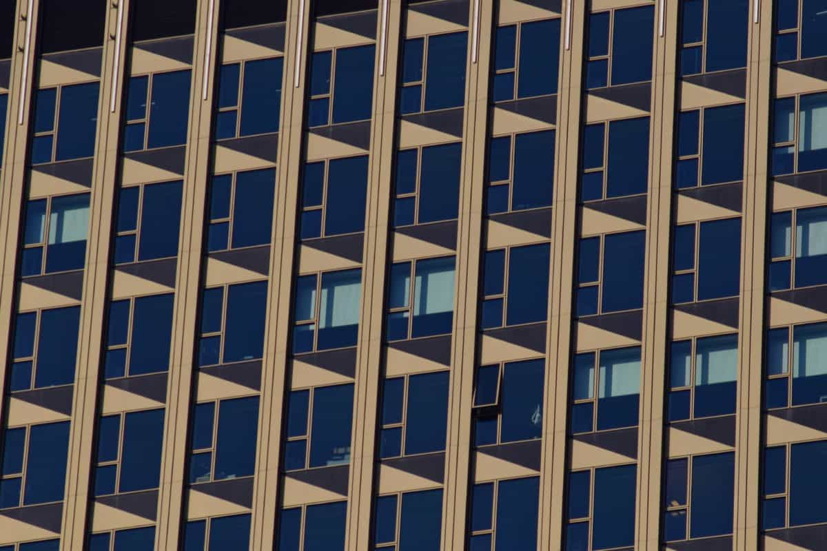 architecture, urbain, ville, verre, fenêtre, façade, urbain