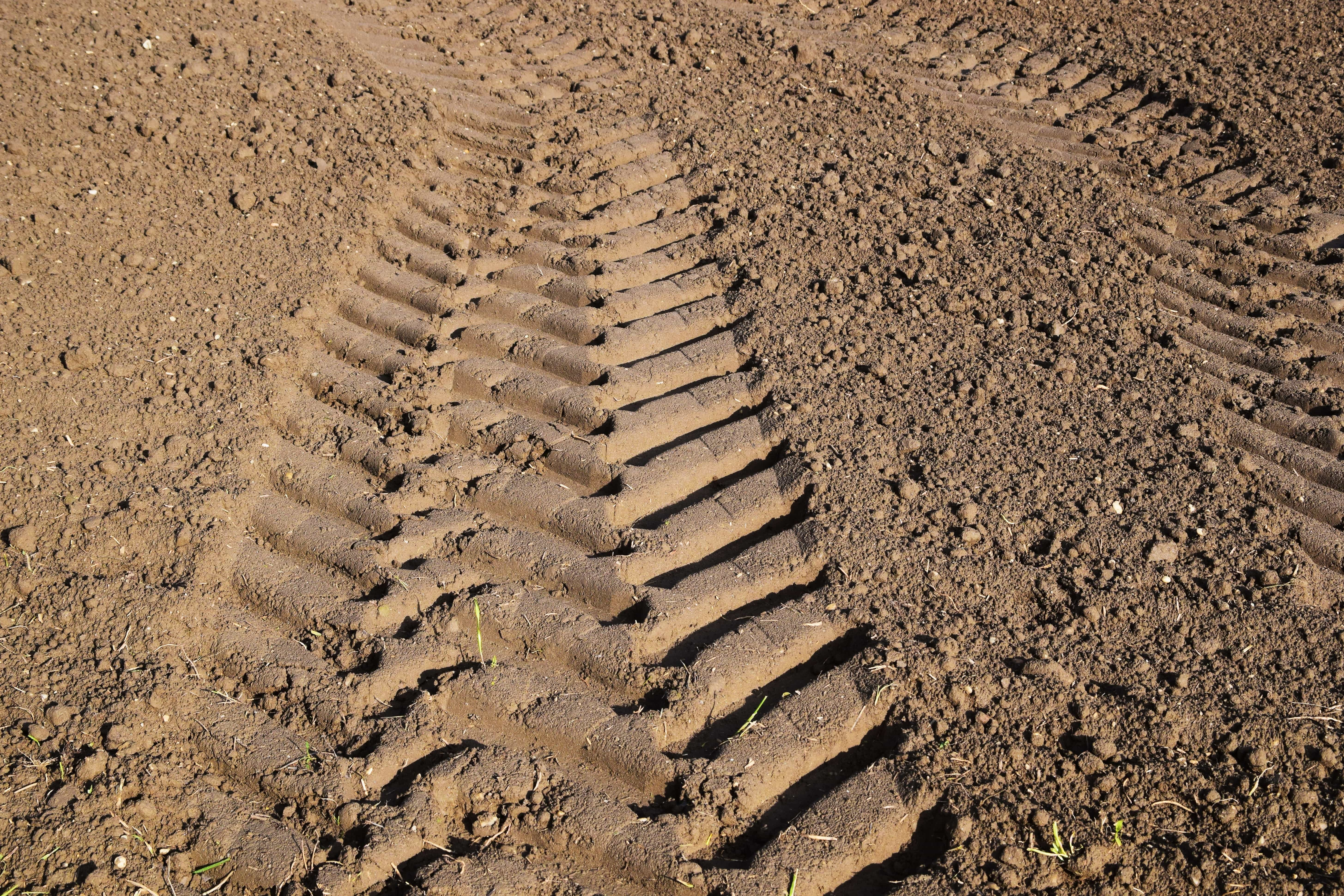 free picture  ground  texture  pattern  field  tire track  soil