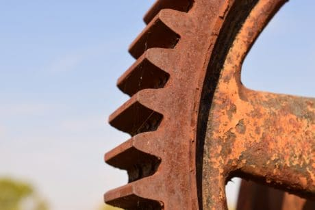 rust, industry, engine, mechanism, technology, metal, steel, corrosion, machine