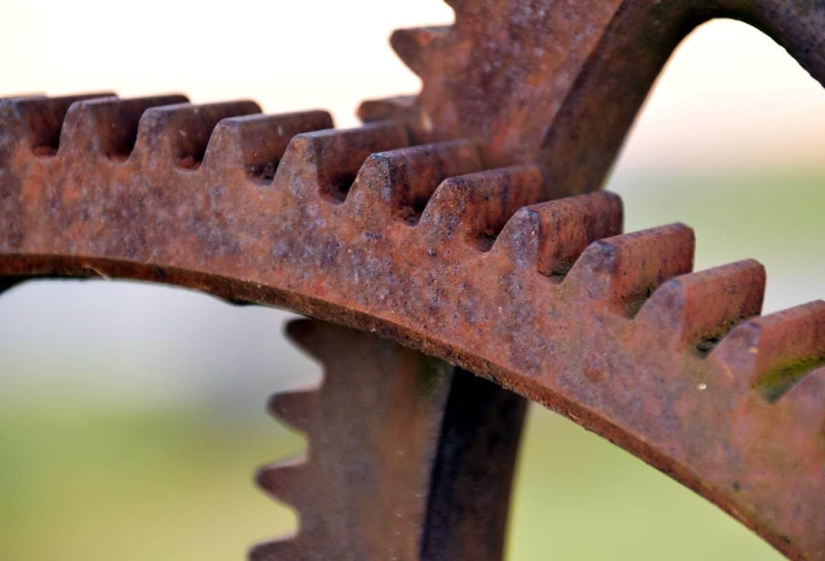 ruggine, industria, meccanismo, tecnologia, metallo, acciaio, corrosione