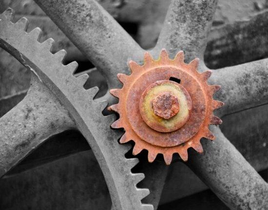 Eisen, Stahl, Industrie, Motor, Korrosion, Rost, Zahn