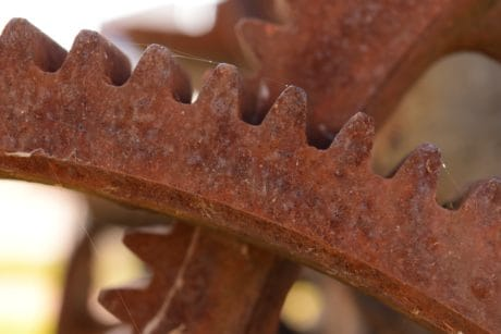 corrosion, steel, iron, old, industry, mechanism, rust