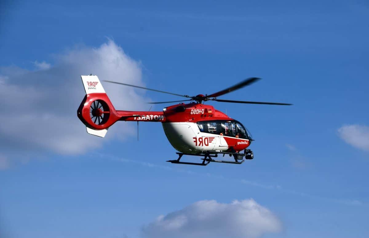 veicolo, elicottero, cielo, aviazione, veicolo, rotore