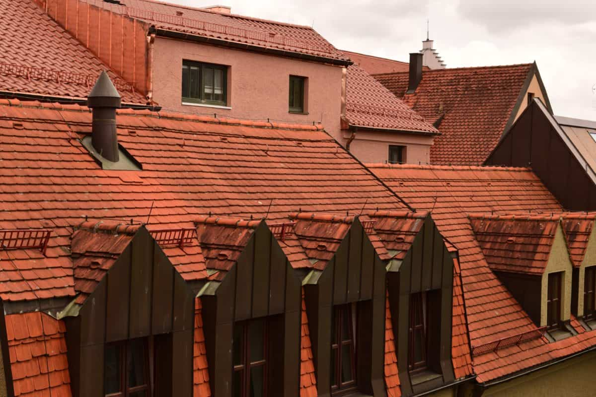 house, old, roof, rooftop, architecture, outdoor, facade