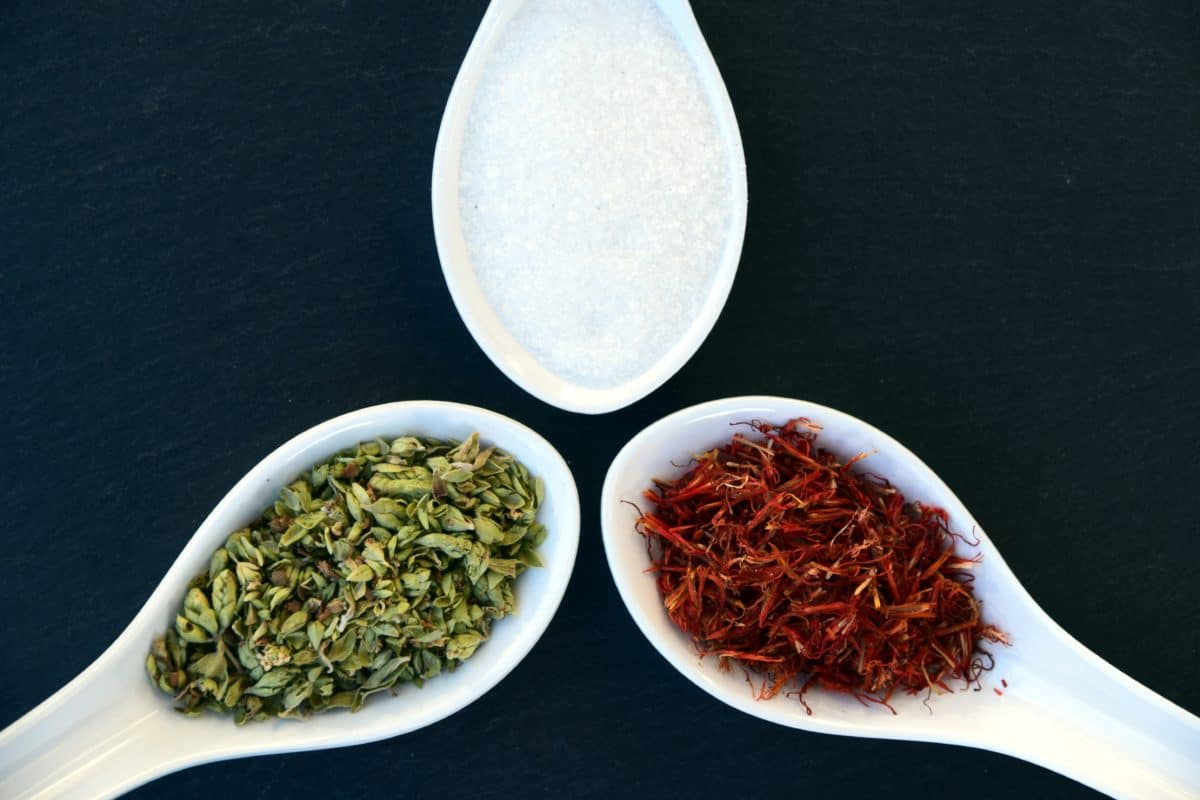 spoon, spice, herb, food, dry, tea