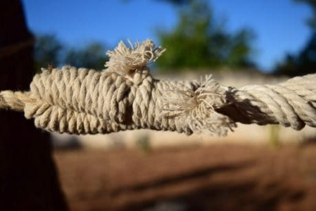 rope, yarn, knot, outdoor, outdoor, object, macro