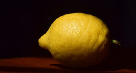 food, fruit, lemon, citrus, diet, indoor, still life, photo studio, darkness