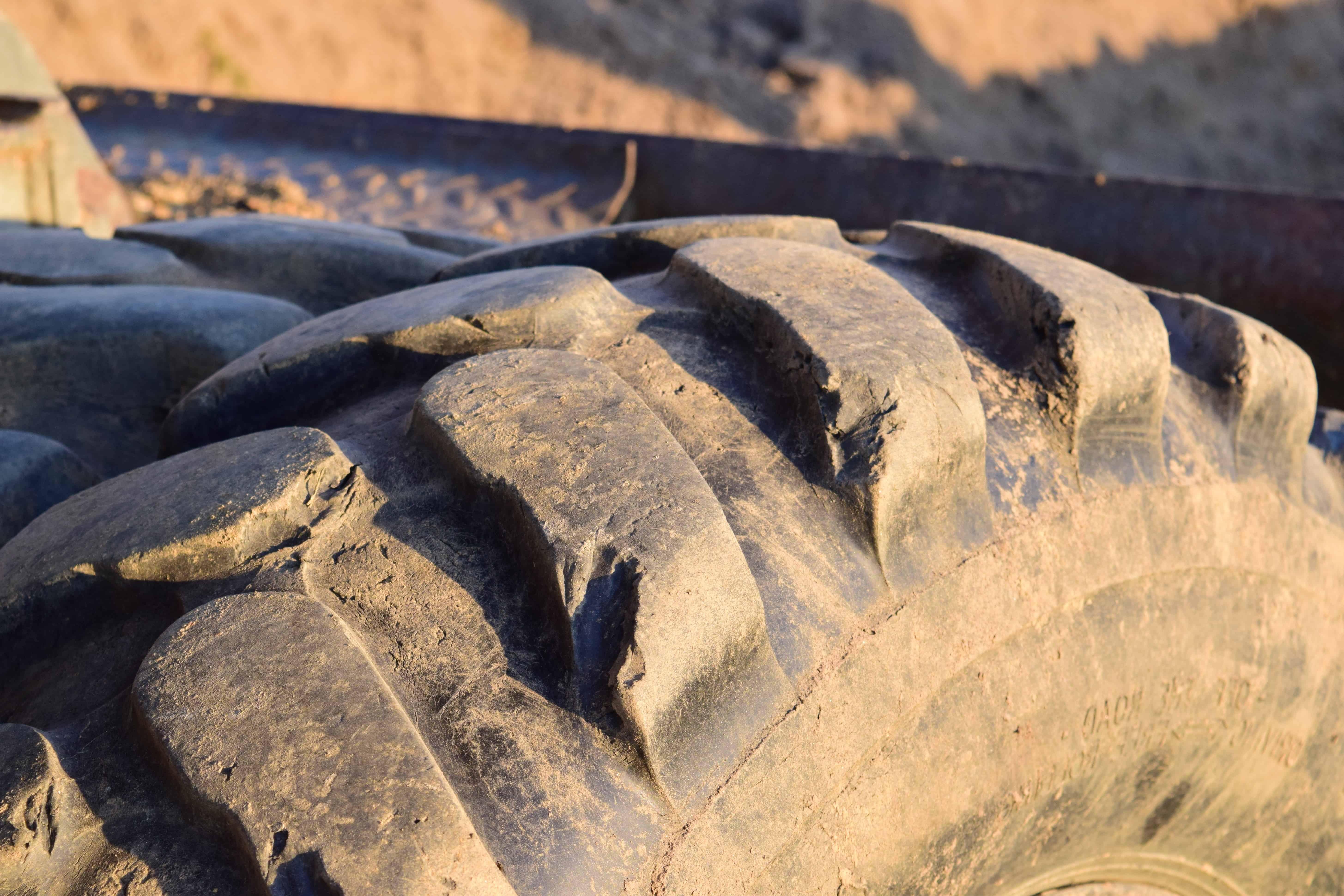 Reifen im Freien