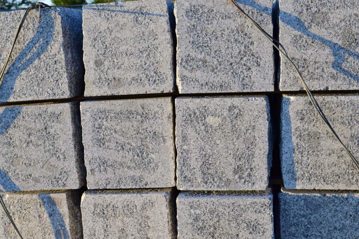 hormigón, cubo, urbano, patrón, ladrillo, cemento, textura, piedra