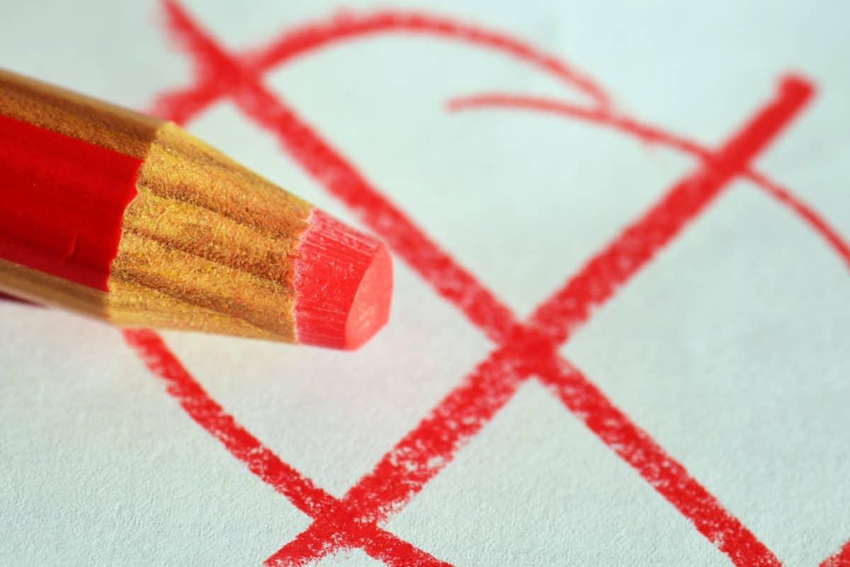 rosso, matita, disegno, creatività, in legno